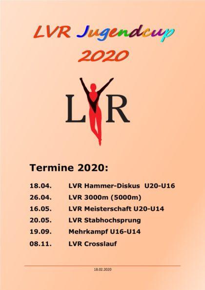 Termine Jugendcup 2020